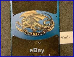 VINTAGE 1983 OG Tony Hawk 80s Skateboard Deck / Powell Peralta NOT REISSUE look