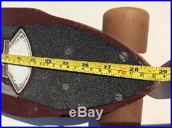 VINTAGE 70s SKATEBOARD GORDON SMITH FIBREFLEX CUTAWAY SLALOM BONE WHEELS TRACKER