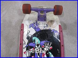 VINTAGE Billy Ruff G&S Skateboard Gull Wing Super Pro III Trucks Jester Bomb 80s