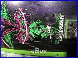 VINTAGE SKATEBOARD Powell Peralta Tony Hawk 1989 rare Black and Green