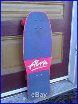 VINTAGE TONY ALVA MONDO ULTRA RARE! SkAteboard ZEPHyR SHOGO HOSOI 1980'S