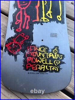 VTG 1989 Lance Mountain Family Powell Peralta Skateboard Deck NOS 80s