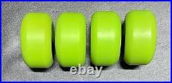 VTG NOS Powell Peralta OG Gen 2 T-Bones 67mm/95a LIME GREEN Skateboard Wheels