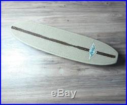 Vintage 1960's Hobie Fiberglass Waffle Skateboard