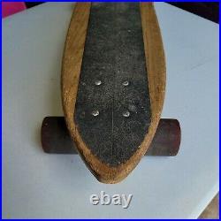 Vintage 1970s Competition Skateboard 31 SIMS Pure Juice Progressive Skate Team