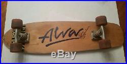Vintage 1970s Tony Alva Skateboard Skate board Tracker Trucks Dogtown L@@K