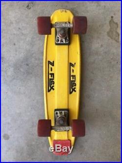 Vintage 1975 Z-Flex Skateboard 27 Fiberglass Dogtown Zephyr OJs XCaliber Trucks