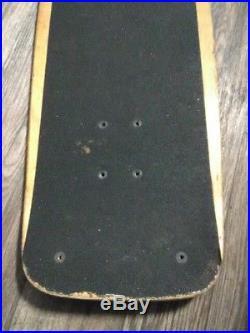 Vintage 1978 Dogtown Bob Biniak Skateboard Green Glass Bottom Clean