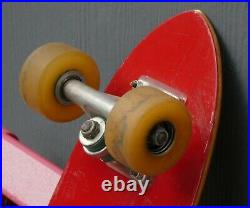 Vintage 1978 G&S Fibreflex Steve Cathey Model Stage 1 Independent Gyro Wheel