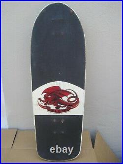 Vintage 1980's Powell Peralta Sword & Skull Skateboard Complete Rat Bones Wheels
