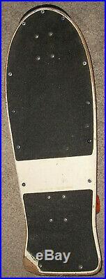 Vintage 1980's Santa Cruz Slasher Meek Model Skateboard Deck OJ II Independent