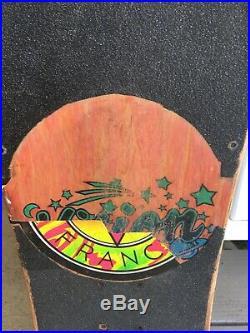 Vintage 1980's Vision Shredder Skateboard Deck