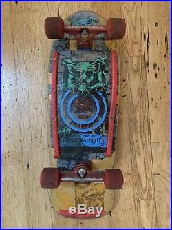 Vintage 1980s Bryce Kanights Schmitt Stix Gargoyle Independent Sims Skateboard