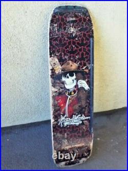 Vintage 1980s Powell Peralta Kevin Harris freestyle skateboard deck Mountie orig