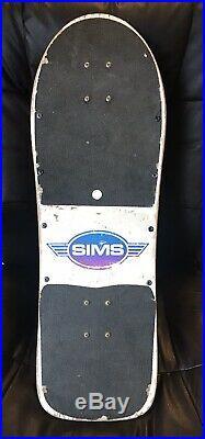 Vintage 1980s Sims Jeff Phillips Pro Model Complete Skateboard