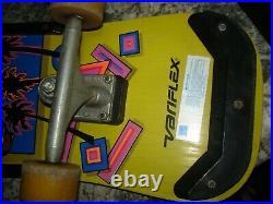 Vintage 1980s Variflex Ollie Skateboard Old School 80s wood COOL