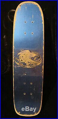Vintage 1981 Powell Peralta Rodney Mullen MUTT -Freestyle Skateboard Deck RARE