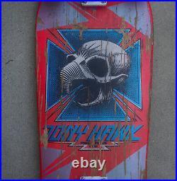 Vintage 1983 Original Powell Peralta Tony Hawk Chicken Skull Skateboard Bones OG