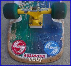Vintage 1983 Santa Cruz Steven Olson Special Edition Skateboard Gull Wing Pro