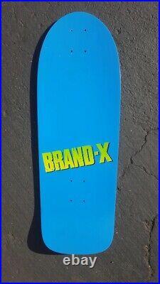 Vintage 1984 NOS Brand X team skateboard deck not a reissue