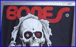 Vintage 1984 Powell Peralta Bones Ripper Skate Shop Banner Display Poster 45