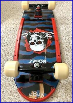Vintage 1984 Powell Peralta COBALT Ripper Full Size Skateboard NOS Tracker Truck