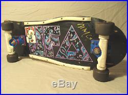 Vintage 1985 JFA Skateboard Tracker Ultra Light Trucks Vision Blurr Wheels RARE
