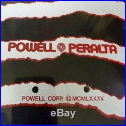 Vintage 1986 Powell Peralta Ripper NOS Oldschool Skateboard Deck NEW OLD STOCK
