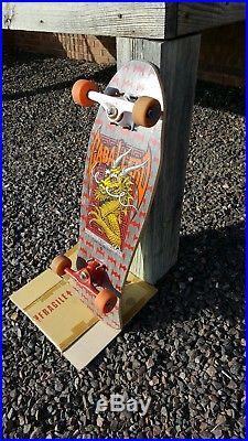 Vintage 1986 Powell Peralta Steve Caballero Skateboard Tracker, Santa Cruz