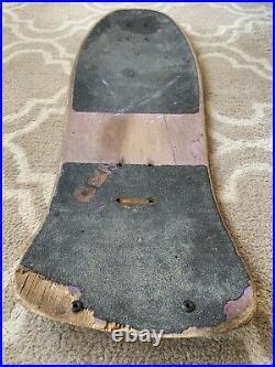Vintage 1986 Santa Cruz Jeff Kendall Pumpkin Skateboard Deck Phillips Roskopp