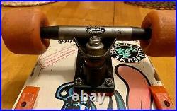 Vintage 1986 Santa Cruz Keith Meek Slasher Complete Skateboard NOT A REISSUE