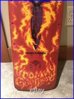 Vintage 1986 TOMMY GUERRERO POWELL PERALTA SKATEBOARD DECK Tony Hawk