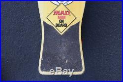 Vintage 1987 Mad Magazine Skateboard by Nash XR-2 Trucks Skate Thrasher