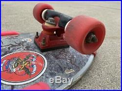 Vintage 1987 Powell Peralta LANCE MOUNTAIN Skateboard 80s Bones, Old School