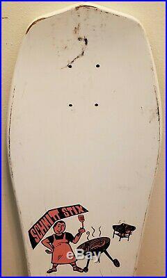 Vintage 1987 Schmitt Stix Joe Lopes Bar- B-Q Skateboard Deck (Not a reissue)