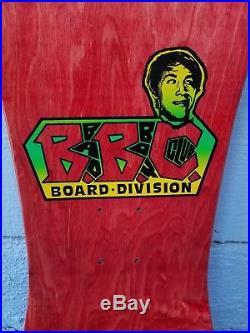 Vintage 1988 BBC Bryan Bryan Pennington NOS Skateboard