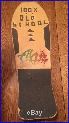 Vintage 1988 Craig Johnson Alva El Loco Gringo Skateboard Old School Full Size