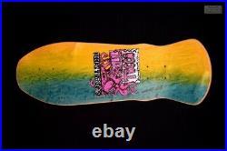Vintage 1988 G&S Bill Tocco Gunslinger NOS Gordon and Smith Skateboard Deck
