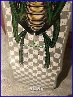 Vintage 1988 POWELL PERALTA Bug SKATEBOARD DECK Nos Mint In Shrink Wrap