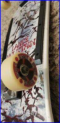 Vintage 1988 Powell Peralta, Lance Mountain OG Skateboard
