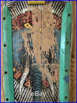 Vintage 1988 Powell Peralta Mike Vallely Elephant Bones Gordon Skateboard