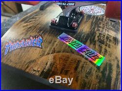Vintage 1988 Powell Peralta Tony Hawk Medallion Skateboard Complete RestoMod