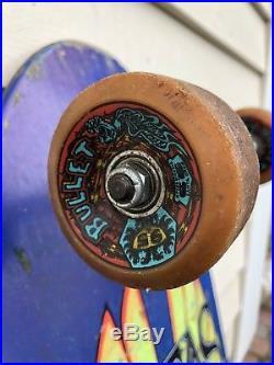 Vintage 1988 Santa Monica Airlines Natas Rare Skateboard
