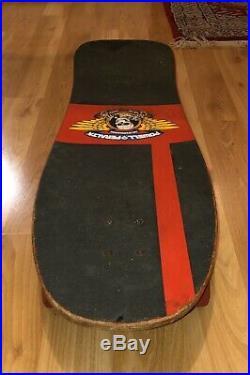 Vintage 1989 Original Powell Peralta Lance Mountain Family Complete Skateboard