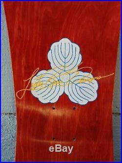 Vintage 1989 Tracker Lester Kasai Skateboard NOS