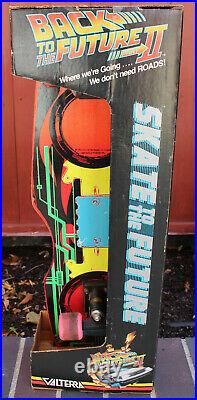 Vintage 1989 Valterra Complete Hover Skateboard Back To The Future III with II Box