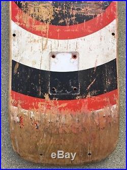 Vintage 1990 Santa Cruz Rob Roskopp Eye 2 Jim Phillips Original Skateboard Deck