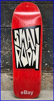 Vintage 1991 Smallroom The Box Team Deck Skateboard