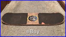 Vintage 1991 Vision Double Vision Snub Skateboard 1st Popsicle Deck In History