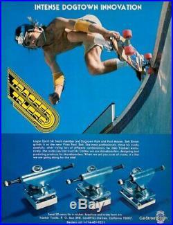 Vintage 1st gen Tracker FulTrack Skateboard Trucks FullTracks for G&S Logan Sims